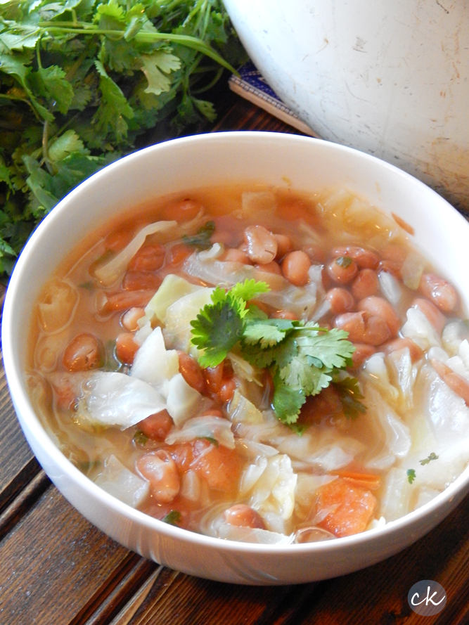 Texas bean soup