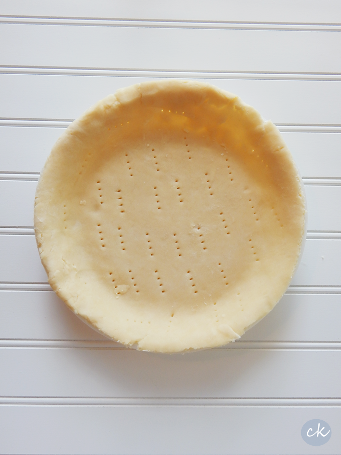 Flaky Dairy and Soy Free Pie Crust