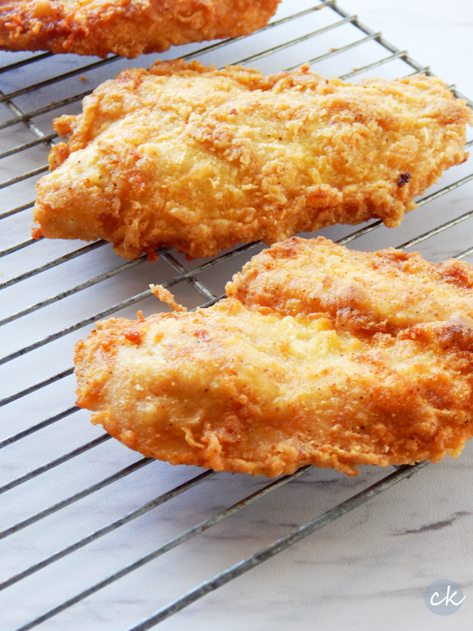 Louisiana Fried Chicken! Tips on how to get that perfect crunch.